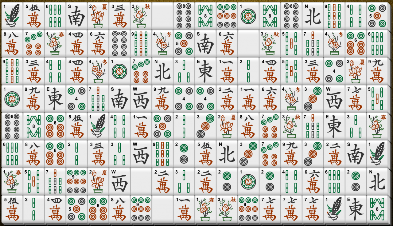 A Shisensho game which I have not been able to resolved.
