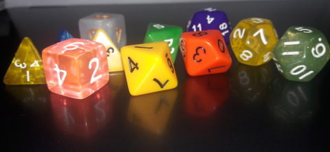 Dungeons & Dragons dice have all the possible shapes that exist!